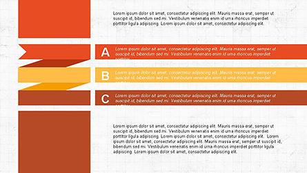 Agenda Options Ribbon Style, Slide 6, 04265, Stage Diagrams — PoweredTemplate.com