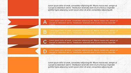 Agenda Options Ribbon Style, Slide 8, 04265, Stage Diagrams — PoweredTemplate.com