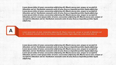 Agenda Options Ribbon Style, Slide 9, 04265, Stage Diagrams — PoweredTemplate.com