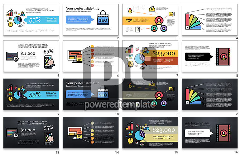 eCommerce Presentation Infographics