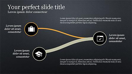 Presentation with Spaghetti Diagrams, Slide 13, 04267, Business Models — PoweredTemplate.com