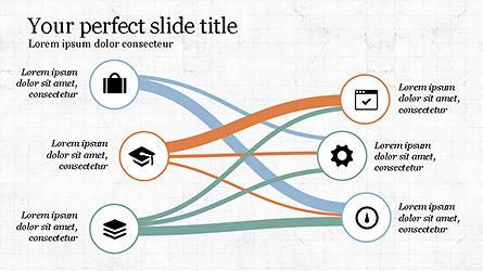 Presentation with Spaghetti Diagrams, Slide 8, 04267, Business Models — PoweredTemplate.com