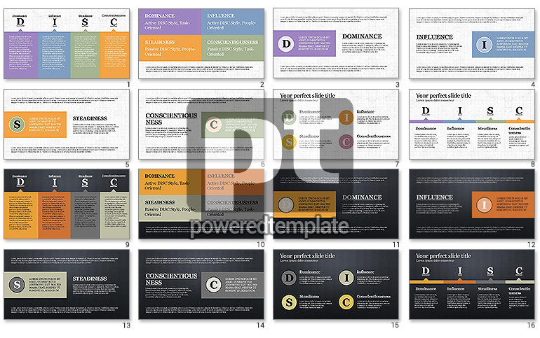DISC Personality Presentation Template