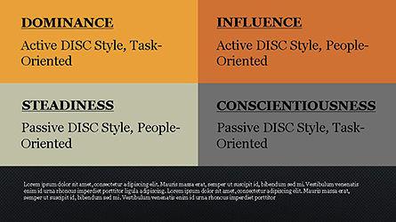 DISC Personality Presentation Template, Slide 10, 04268, Business Models — PoweredTemplate.com