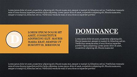 DISC Personality Presentation Template, Slide 11, 04268, Business Models — PoweredTemplate.com