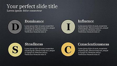 DISC Personality Presentation Template, Slide 15, 04268, Business Models — PoweredTemplate.com