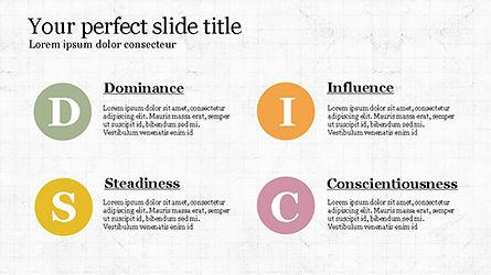DISC Personality Presentation Template, Slide 7, 04268, Business Models — PoweredTemplate.com