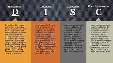 DISC Personality Presentation Template, Slide 9, 04268, Business Models — PoweredTemplate.com