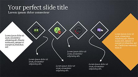Square and Rhombus Presentation Template, Slide 11, 04269, Presentation Templates — PoweredTemplate.com