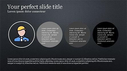 Square and Rhombus Presentation Template, Slide 12, 04269, Presentation Templates — PoweredTemplate.com