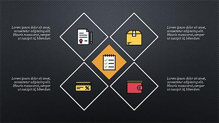 Square and Rhombus Presentation Template, Slide 13, 04269, Presentation Templates — PoweredTemplate.com