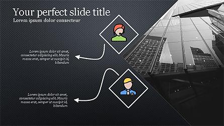 Square and Rhombus Presentation Template, Slide 9, 04269, Presentation Templates — PoweredTemplate.com