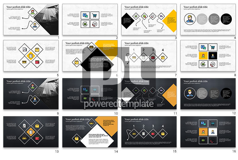 Square and Rhombus Presentation Template