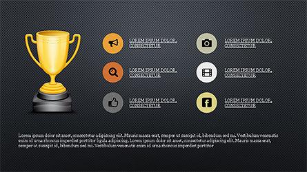 Contest Presentation Concept, Slide 12, 04273, Presentation Templates — PoweredTemplate.com