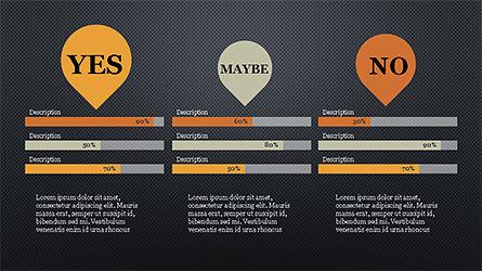 Yes No Presentation Concept, Slide 10, 04276, Icons — PoweredTemplate.com