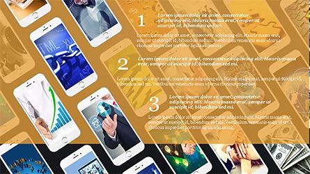 Smartphones Presentation Template, Slide 13, 04277, Presentation Templates — PoweredTemplate.com