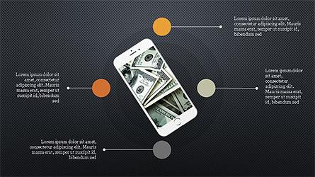 Smartphones Presentation Template, Slide 16, 04277, Presentation Templates — PoweredTemplate.com