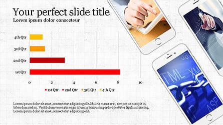 Smartphones Presentation Template, Slide 7, 04277, Presentation Templates — PoweredTemplate.com