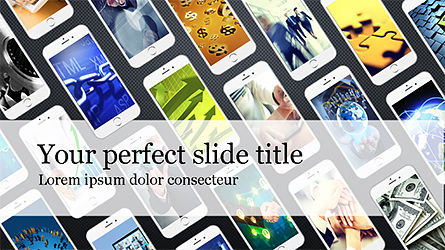 Smartphones Presentation Template, Slide 9, 04277, Presentation Templates — PoweredTemplate.com