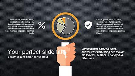 Flat Shapes Business Presentation Template, Slide 11, 04278, Presentation Templates — PoweredTemplate.com