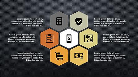 Flat Shapes Business Presentation Template, Slide 12, 04278, Presentation Templates — PoweredTemplate.com