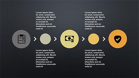 Flat Shapes Business Presentation Template, Slide 14, 04278, Presentation Templates — PoweredTemplate.com