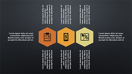 Flat Shapes Business Presentation Template, Slide 16, 04278, Presentation Templates — PoweredTemplate.com