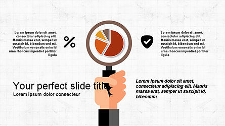 Flat Shapes Business Presentation Template, Slide 3, 04278, Presentation Templates — PoweredTemplate.com