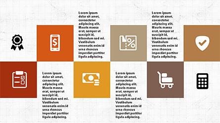 Flat Shapes Business Presentation Template, Slide 5, 04278, Presentation Templates — PoweredTemplate.com