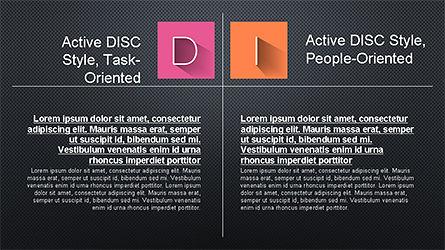 DISC Diagram Slide Deck, Slide 10, 04279, Business Models — PoweredTemplate.com