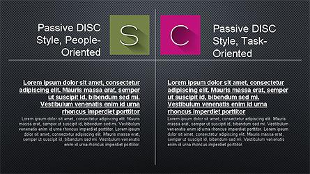 DISC Diagram Slide Deck, Slide 11, 04279, Business Models — PoweredTemplate.com