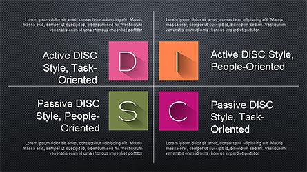 DISC Diagram Slide Deck, Slide 16, 04279, Business Models — PoweredTemplate.com