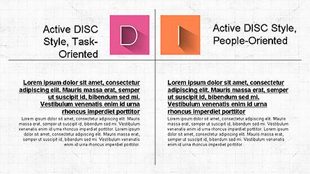 DISC Diagram Slide Deck, Slide 2, 04279, Business Models — PoweredTemplate.com