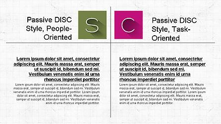 DISC Diagram Slide Deck, Slide 3, 04279, Business Models — PoweredTemplate.com
