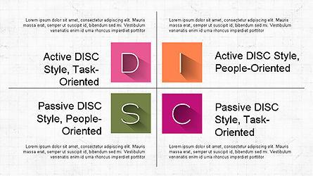 DISC Diagram Slide Deck, Slide 8, 04279, Business Models — PoweredTemplate.com