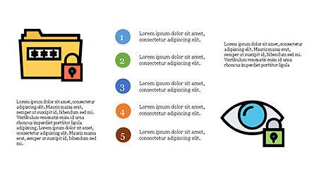 Data Security Presentation Template, Slide 8, 04280, Icons — PoweredTemplate.com