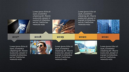 Timeline Agenda Presentation Template, Slide 10, 04281, Stage Diagrams — PoweredTemplate.com
