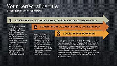 Timeline Agenda Presentation Template, Slide 11, 04281, Stage Diagrams — PoweredTemplate.com