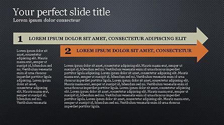 Timeline Agenda Presentation Template, Slide 13, 04281, Stage Diagrams — PoweredTemplate.com