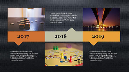 Timeline Agenda Presentation Template, Slide 14, 04281, Stage Diagrams — PoweredTemplate.com