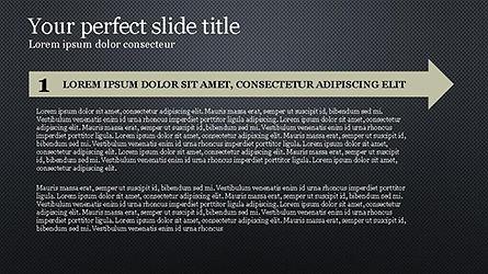 Timeline Agenda Presentation Template, Slide 15, 04281, Stage Diagrams — PoweredTemplate.com