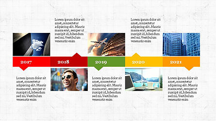 Timeline Agenda Presentation Template, Slide 2, 04281, Stage Diagrams — PoweredTemplate.com
