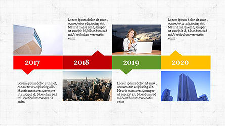 Timeline Agenda Presentation Template, Slide 4, 04281, Stage Diagrams — PoweredTemplate.com