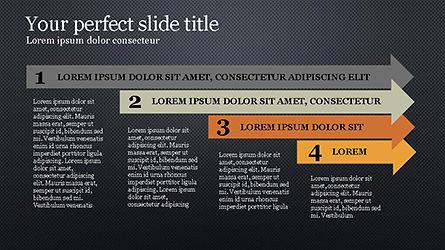 Timeline Agenda Presentation Template, Slide 9, 04281, Stage Diagrams — PoweredTemplate.com