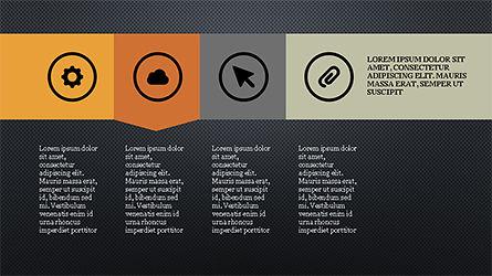 Stage Slide Deck, Slide 10, 04283, Stage Diagrams — PoweredTemplate.com