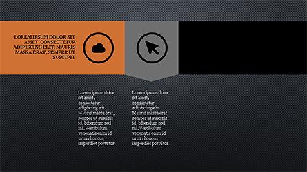 Stage Slide Deck, Slide 12, 04283, Stage Diagrams — PoweredTemplate.com