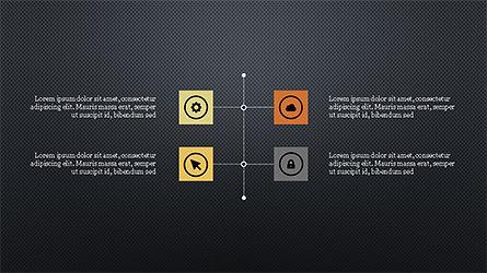 Stage Slide Deck, Slide 13, 04283, Stage Diagrams — PoweredTemplate.com