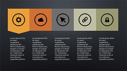 Stage Slide Deck, Slide 14, 04283, Stage Diagrams — PoweredTemplate.com