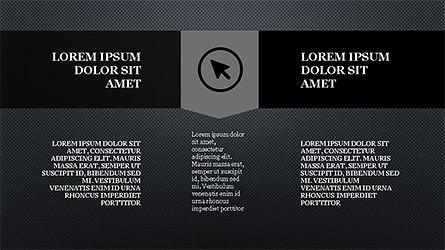 Stage Slide Deck, Slide 16, 04283, Stage Diagrams — PoweredTemplate.com