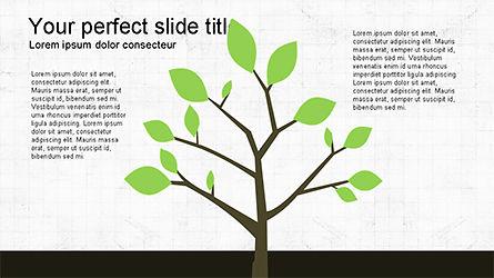 Tree Grow Presentation Template, 04284, Business Models — PoweredTemplate.com